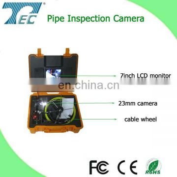 DVR function sewer line camera inspection with 512 transmitter TEC-Z710DL