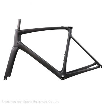 Wholesale A8 AERO Carbon road bike frame UD matte with BB86 2 Years Warranty