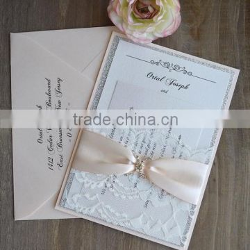 2016 elegant wholesale Europe regional cheap hot stamping,letterpress wedding invitation cards