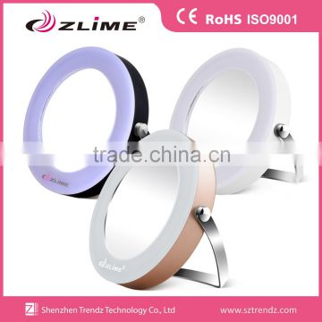 Stand up led cosmetic mirror