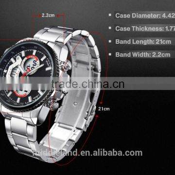 MIDDLELAND Fashion Watches with Stainless Steel Strap wrist watch Alloy Case, 3ATM Waterproof, Customized Logos Accepted