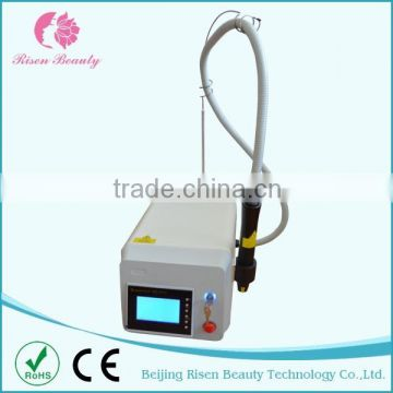 Freckles Removal Hot New Product For 2015 Q 1 HZ Switched Nd Yag Laser Tatoo Removal Tattoo Machine