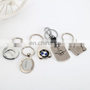 Wholesale metal Tokens keychain ring high quality colourful keychain for gifts