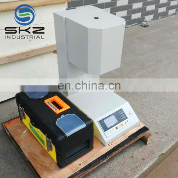 ISO1133 auto cutting melt temperature test meter machine instrument for thermoplastic