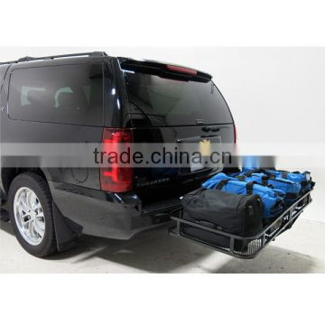 Truch Receiver Hitch Mounted Cargo Carrier Rack Traile Luggage