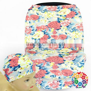Lovely Printing Strecthy Baby Car Seat Cover Multi Use Baby Child Car Seat Cover