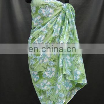 100% Cotton Printed Pareo / Sarong for Promotion
