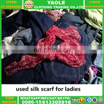 Luxury designer scarf wholesale used clothes used clothing in bale