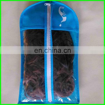hair extension bag&hair extension hanger&hair extension bag with zipper