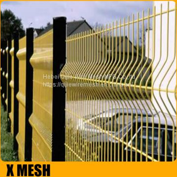 Powder Coated Frame Finishing Security Fence