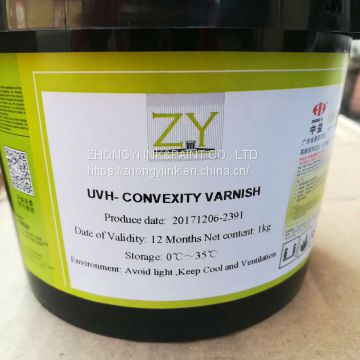 UV spot varnish