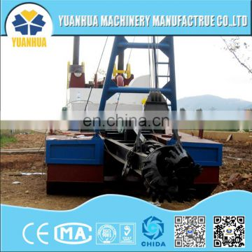 12 inch cutter suction dredger mining barge for sale