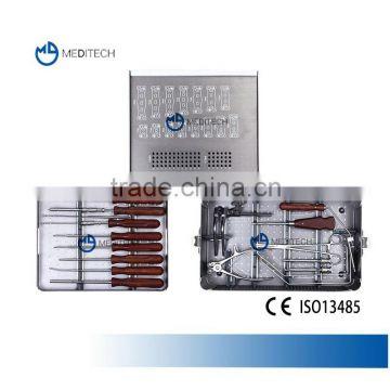 Anterior Cervical Plate Instrument Set, Orthopedic Spinal Surgical  Instruments