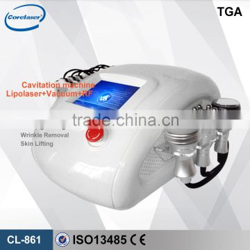 Cavitation Ultrasound Machine Good Price! 6 In 1 Fat Burning Cavitation Machine/vacuum Rf/cavitation Slimming Machine