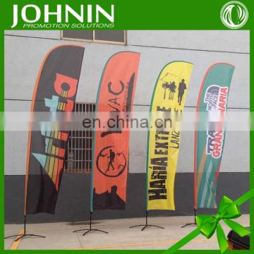 2016 68D Polyester Feather Shape High Sale Custom Flag Printing