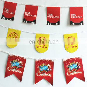 Advertising full color printing plastic PVC happy birthday banner