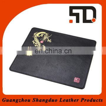 Competitive Price Handmade Custom Leather Mouse Pad with Different Printed