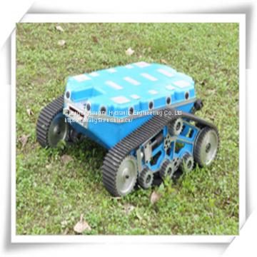 Load capacity 80kg crawler wheel mobile robot platform
