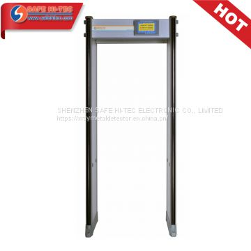 33 Zones IP65 Walk Through Door Frame Metal Detector for Weapon Detection SA300S