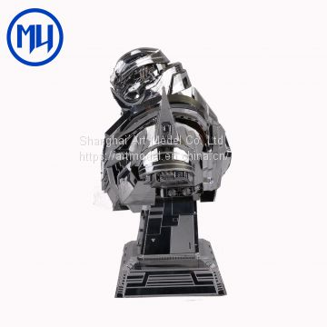 Mu Stainless Steel 3D diy Puzzle Model Transformers Megatron Laser Cutting Metal Jigsaw Puzzle Toys for Collect