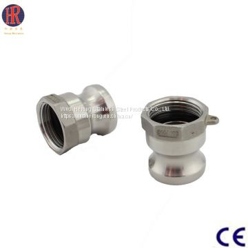 China Providers Stainless Steel Pipe Fitting Camlock Coupling