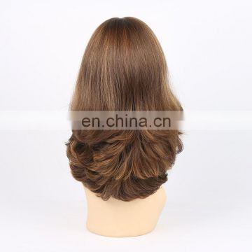 Natural color human hair full lace wig with baby hair,cheap full lace european human hair wigs for black women