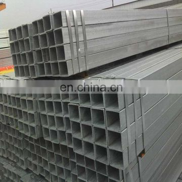 Industry erw galvanized square / rectangular tube seamless square pipe