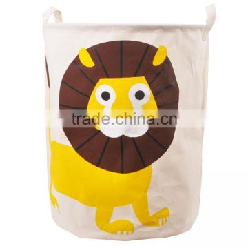 Animal bag for kids toy basket foldable