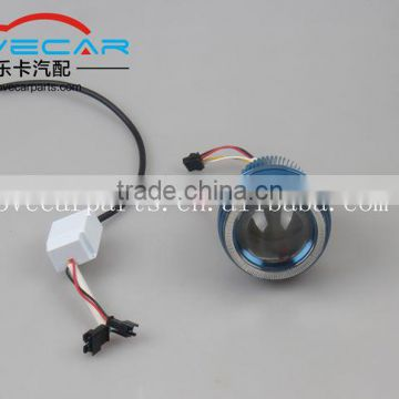 2INCH MOTORBIKE HEADLIGHT LED PROJECTOR LENS WITH ANGEL EYE FOR HONDA RETROFIT