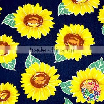 Wholesale Factory Directly Sale High Quality Floral Print Polyester Cotton Fabric