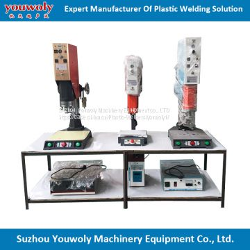 Accessories Thermoplastic Bonding By Sonic Welding Machine