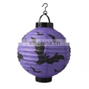 Halloween party decoration paper lanterns and paper spide banner kits