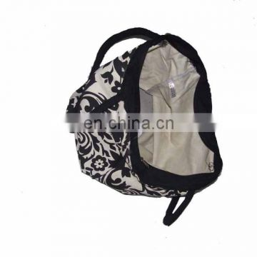 printed fabric canvas tote bag