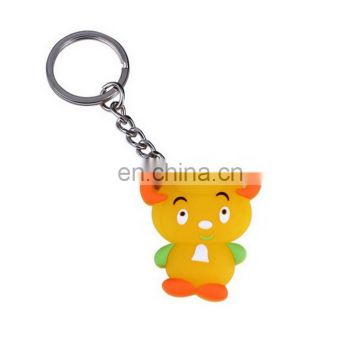 Golden Supplier Low Price Silicon Keychain Eco-Friendly self defense key chain