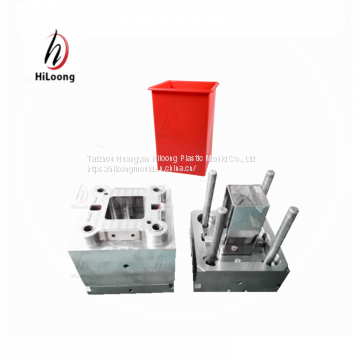 injection plastic garbage can mould manufacturing taizhou mould maker