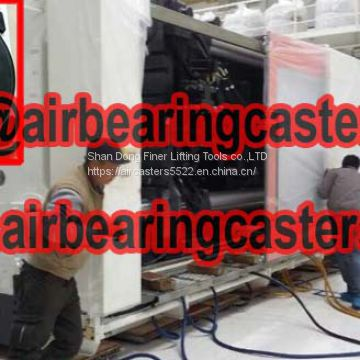 Air caster systems features