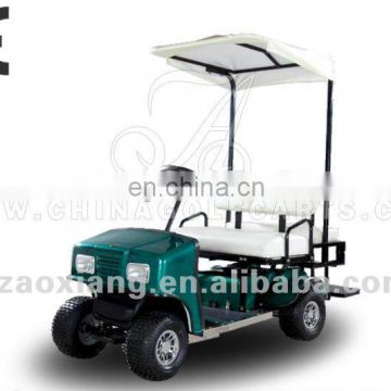 Safety speed battery operated golf cart 2 seater