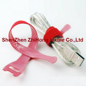 Customized Elastic Adjustable Fastener Hook And Loop Cinch Straps