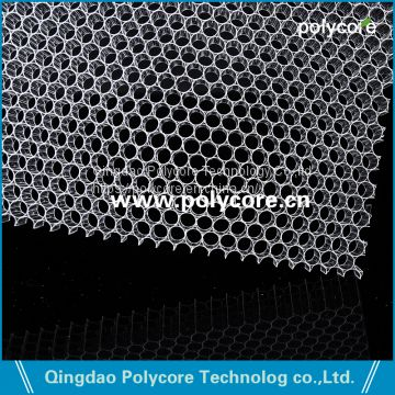 Act As Air Distributor in Commercial Refrigeration Display Showcase PC Honeycomb