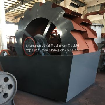High-efficiency Wheel type Sand washer River stone washing machine