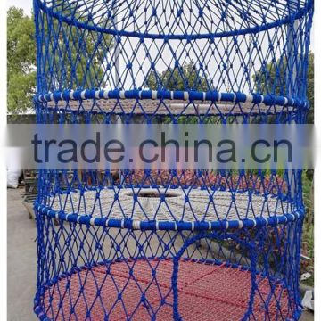 high quality children Expand the hoisting net cage-blue air