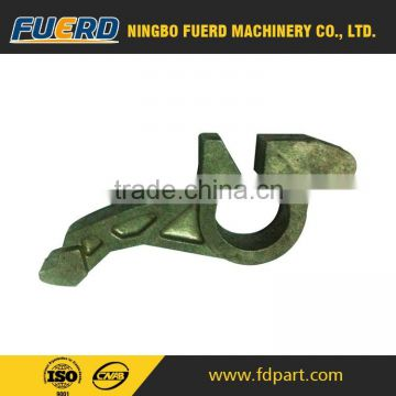 high quality manufacturer cast iron with custom metal part / China alibaba trade assurance cast iron