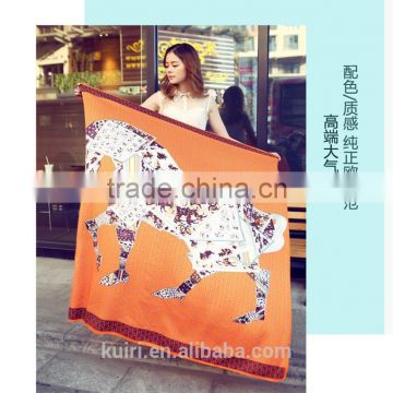 2016 Fashion Ladies Large Cotton Scarf Female Summer Beach Cover Ups Cashew Printed Twill Long Voile Scarf