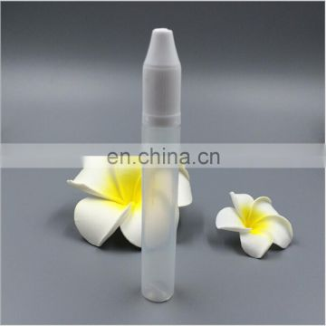 Hot sale small 30mls clear plastic squeeze bottle