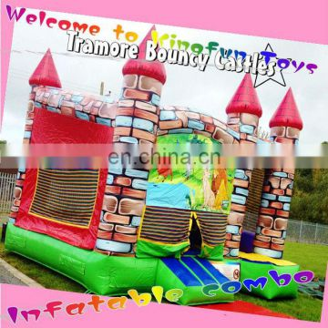 Tramore inflatable bouncy castle with slide