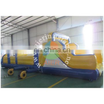 giant inflable obstacle course, high quality PVC inflatable obstacle