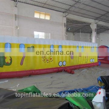 Commercial 5k giant slide inflatable wipeout course for sale made in China