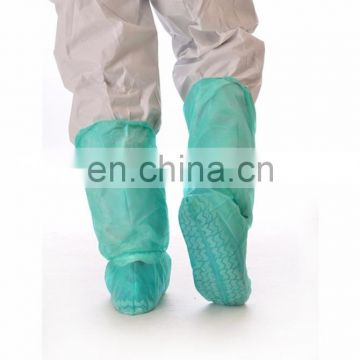 Disposable Non-skid boot covers with elastic at top