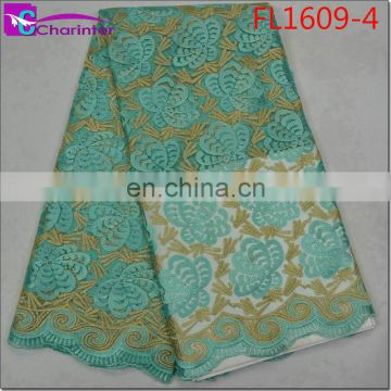high quality african lace fabrics FL1609