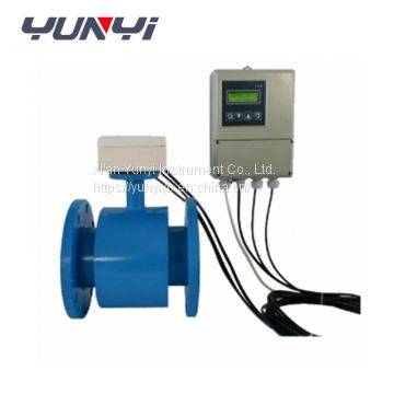 china digital electromagnetic water flow meter measurement devices